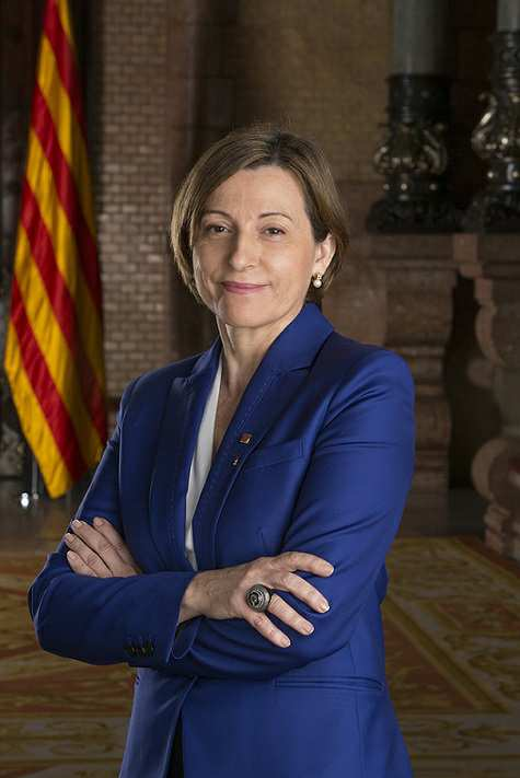 Entrevista a la Molt Honorable Presidenta del Parlament de Catalunya, Sra Carme Forcadell