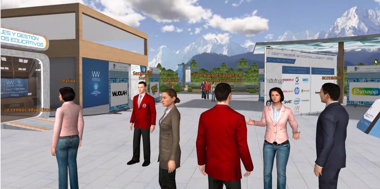 Networking virtual 3D
